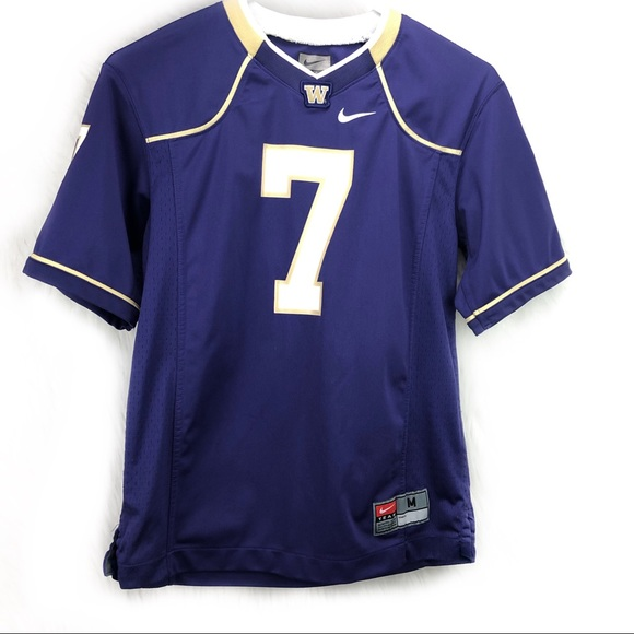 100% authentic 17070 9b68d Nike UW Huskies youth medium football jersey #7